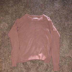 Sweaters - Pink oversized sweater